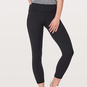 Lululemon Train Times 7/8 Pant size 10 black